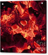Red Hot Love Acrylic Print