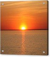 Red-hot Sunset Acrylic Print
