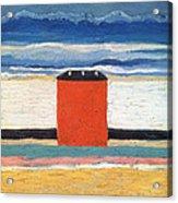 Red House, 1932 Oil On Canvas Acrylic Print