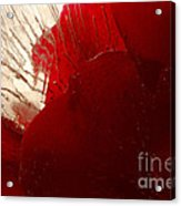 Red Ice Acrylic Print