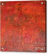 Red Jasper Stone Acrylic Print