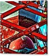 Red Lift Acrylic Print