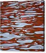 Red Meditation Acrylic Print