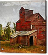 Red Mill Montana Acrylic Print