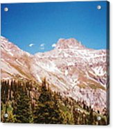 Red Mountain Pass Acrylic Print