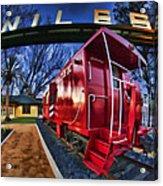 Red Niles Acrylic Print