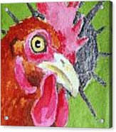 Red Nugget Acrylic Print
