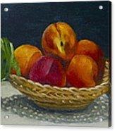 Red Peaches Acrylic Print