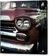 Red Pickup Acrylic Print