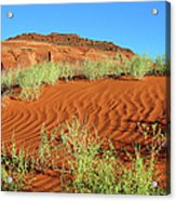 Red Planet Acrylic Print