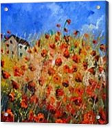 Red Poppies 562111 Acrylic Print