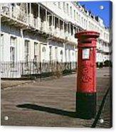 Red Postbox Acrylic Print