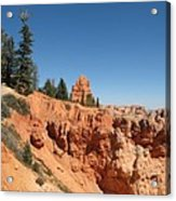 Red Red Rocks Acrylic Print