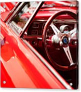 Red Ride Acrylic Print