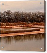 Red River Acrylic Print