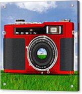 Red Robin Acrylic Print by Mike McGlothlen