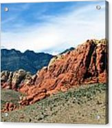 Red Rock Canyon Acrylic Print by Andrea Dale