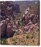 Red Rock Canyon Iv Acrylic Print