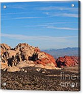 Red Rock Canyon Las Vegas Acrylic Print