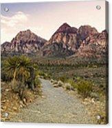Red Rock Canyon Trailhead Acrylic Print