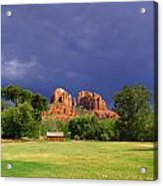 Red Rock Crossing Park Acrylic Print