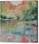 Red Rock Series #1 Acrylic Print