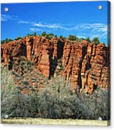 Red Rock State Park Acrylic Print