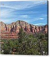 Red Rock Views Acrylic Print