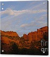 Red Rocks In Sedona Acrylic Print