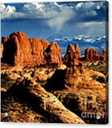 Red Rocks Acrylic Print