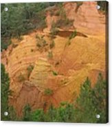 Red Rocks Of Roussillon Acrylic Print
