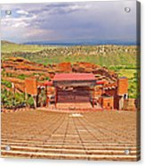 Red Rocks Park Amphitheater - Centered View Acrylic Print