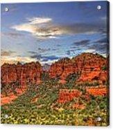 Red Rocks Sunset Acrylic Print