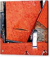Red Roofs Of Sibiu Acrylic Print