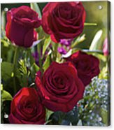 Red Roses The Language Of Love Acrylic Print