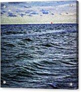 Red Sail 2 Acrylic Print