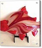 Red Salmon Acrylic Print