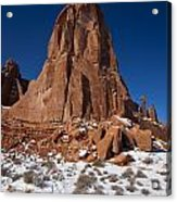 Red Sandstone Arches National Park Utah Acrylic Print