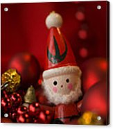 Red Santa Acrylic Print