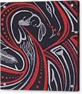 Red Skin Acrylic Print