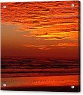 Red Sky Dawn Acrylic Print