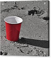 Red Solo Cup Acrylic Print