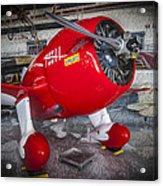 Red Speedster Acrylic Print