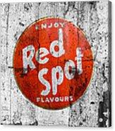 Red Spot Acrylic Print