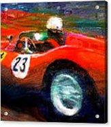 Red Stallion Acrylic Print