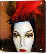 Red Streak Acrylic Print