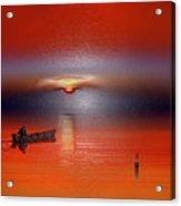 Red Sun Acrylic Print