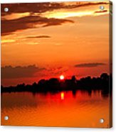 Red Sunset Beauty Acrylic Print