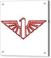 Red Thunderbird 1 Acrylic Print