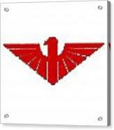 Red Thunderbird 2 Acrylic Print